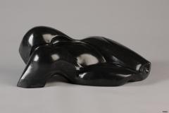 Afrique (Marbre Noir) 47x26x18 cm