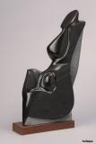 Enigme (Marbre Noir) 55 cm